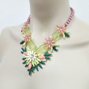 Jewelry - NWT Pink/Green Necklace